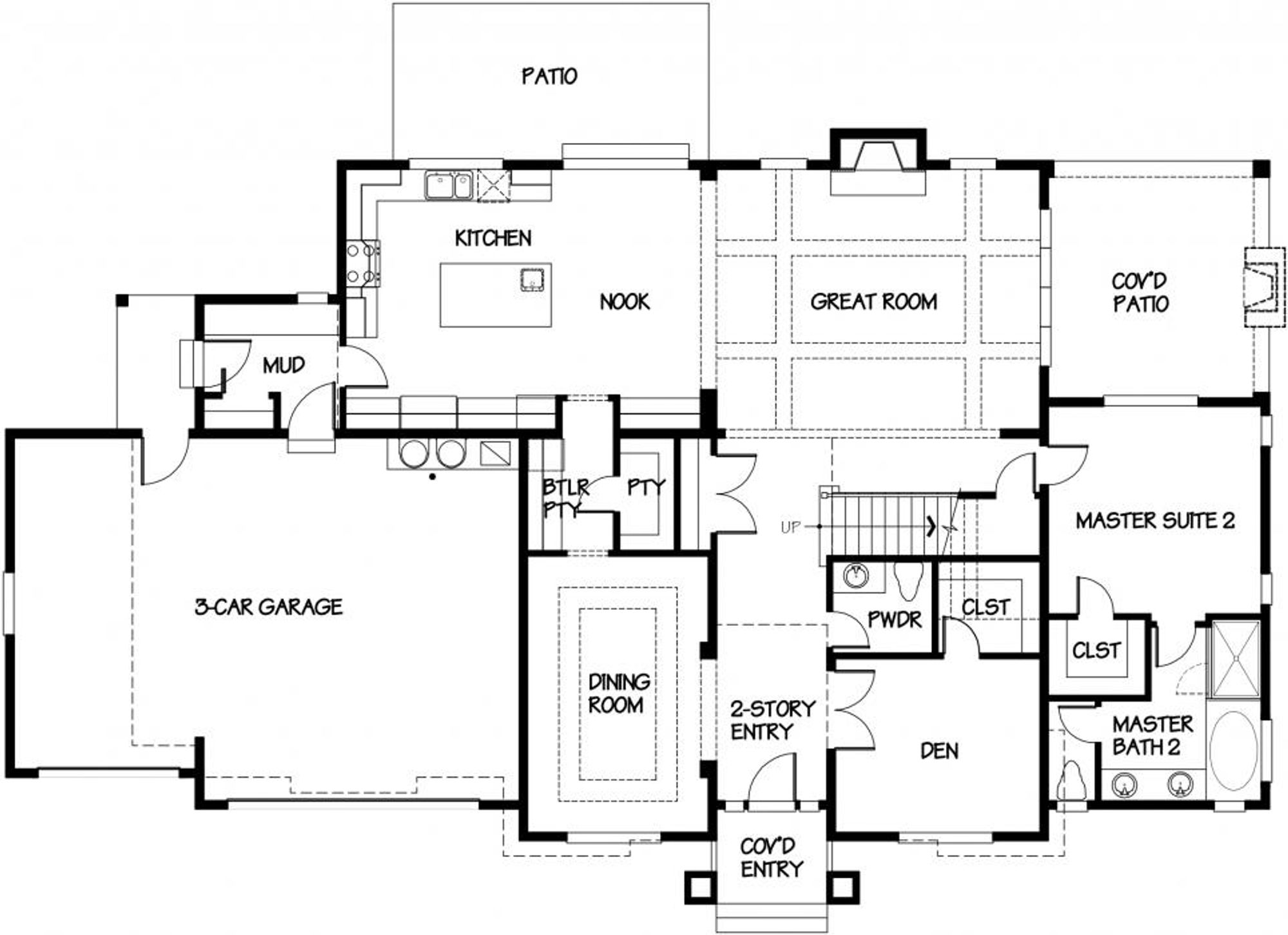 Sydney Main Floor Plan