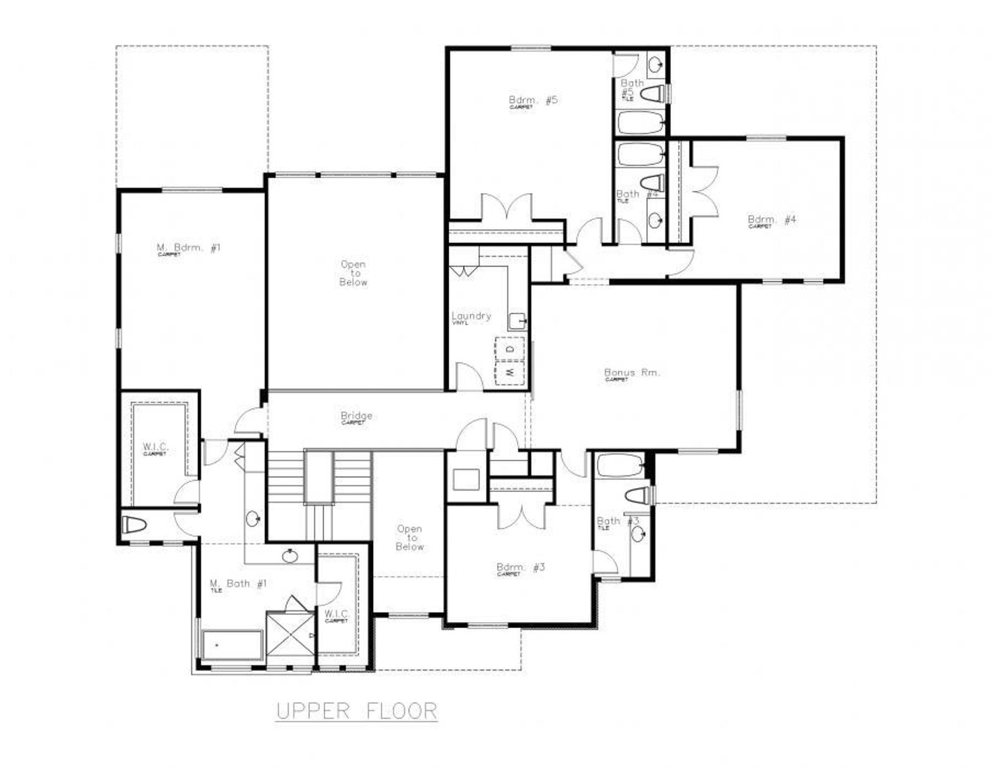 Monte Carlo Upper Floor Plan