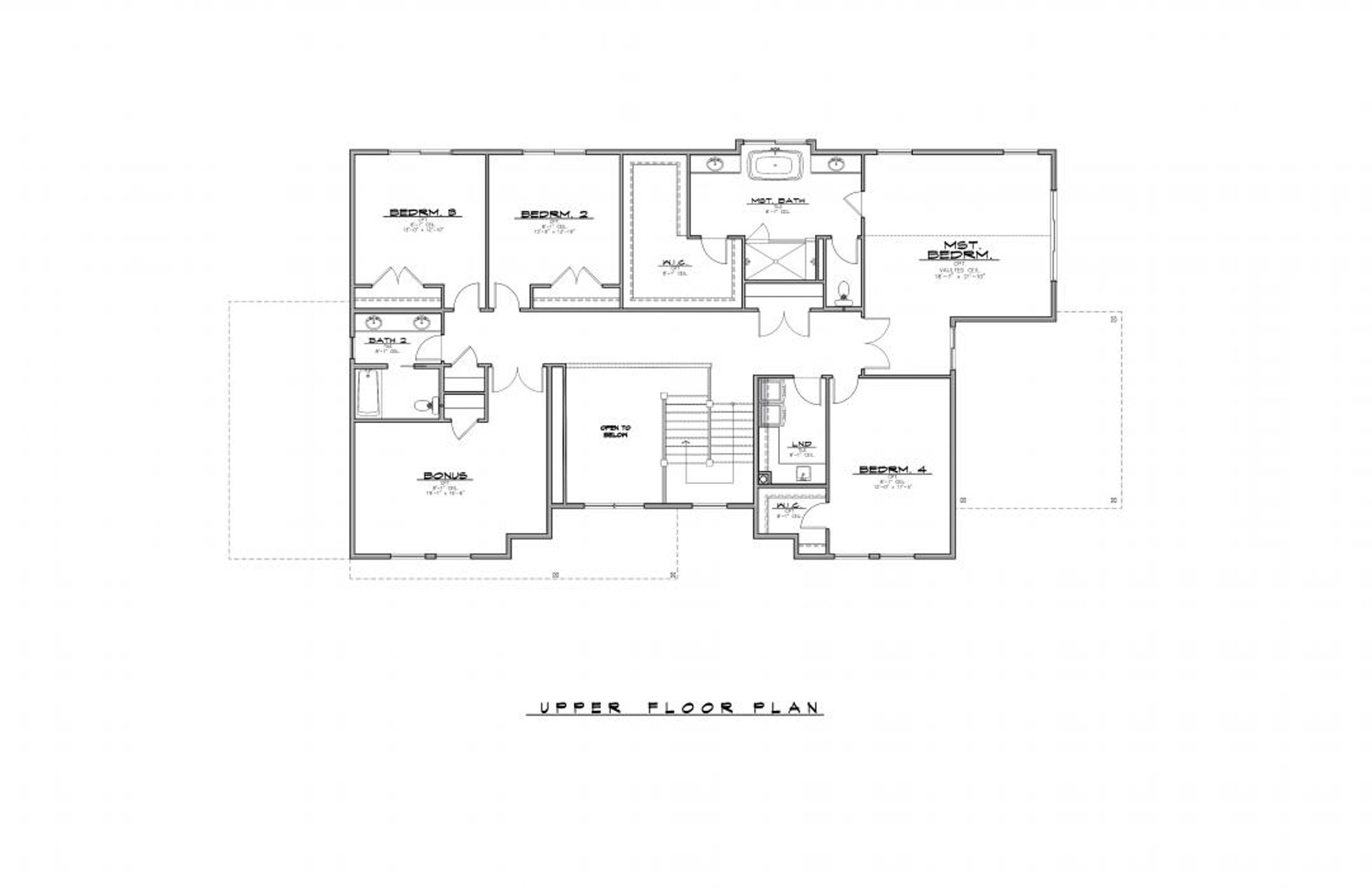 Ravenwood Upper Floor Plan