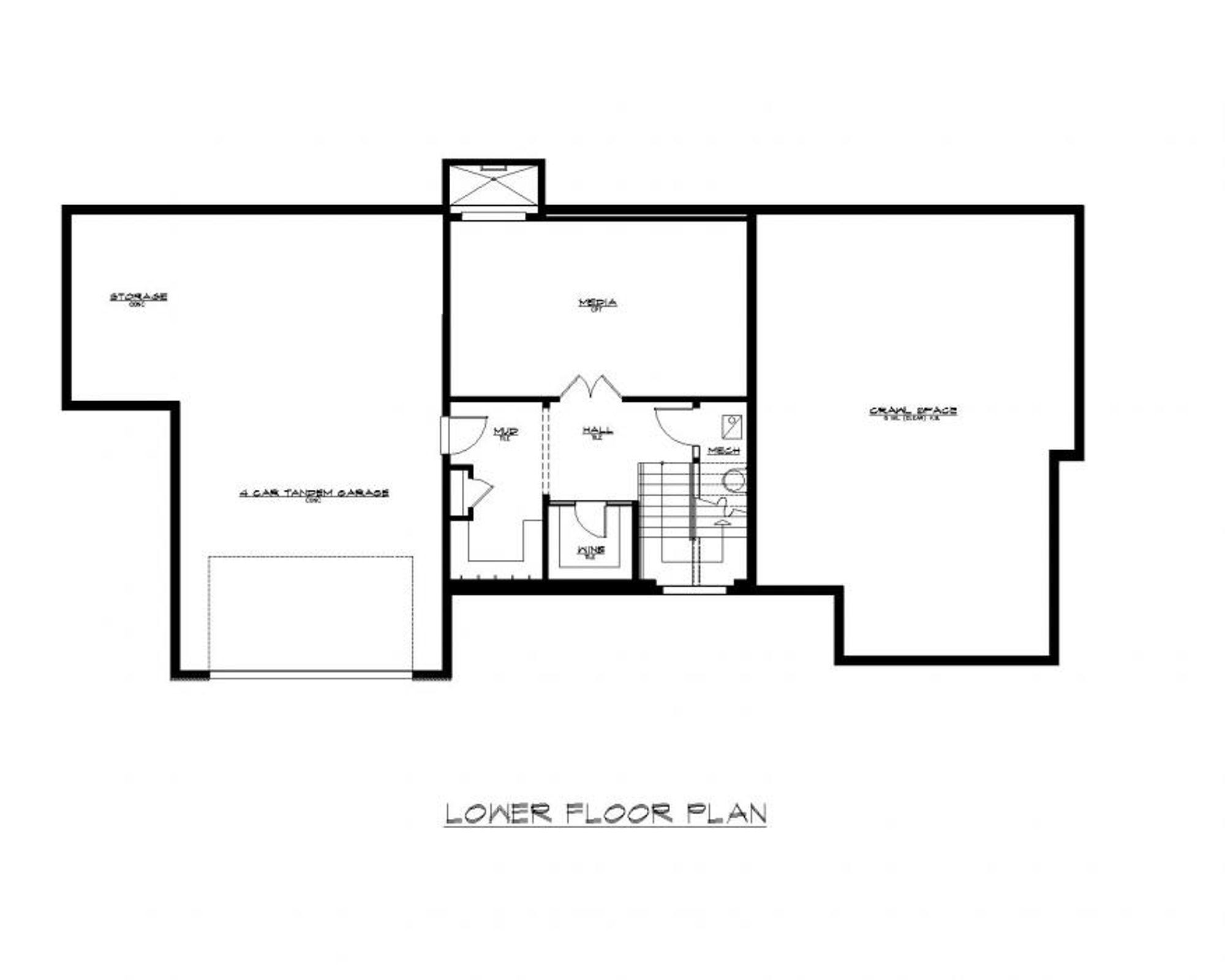 Monza B Lower Floor Plan