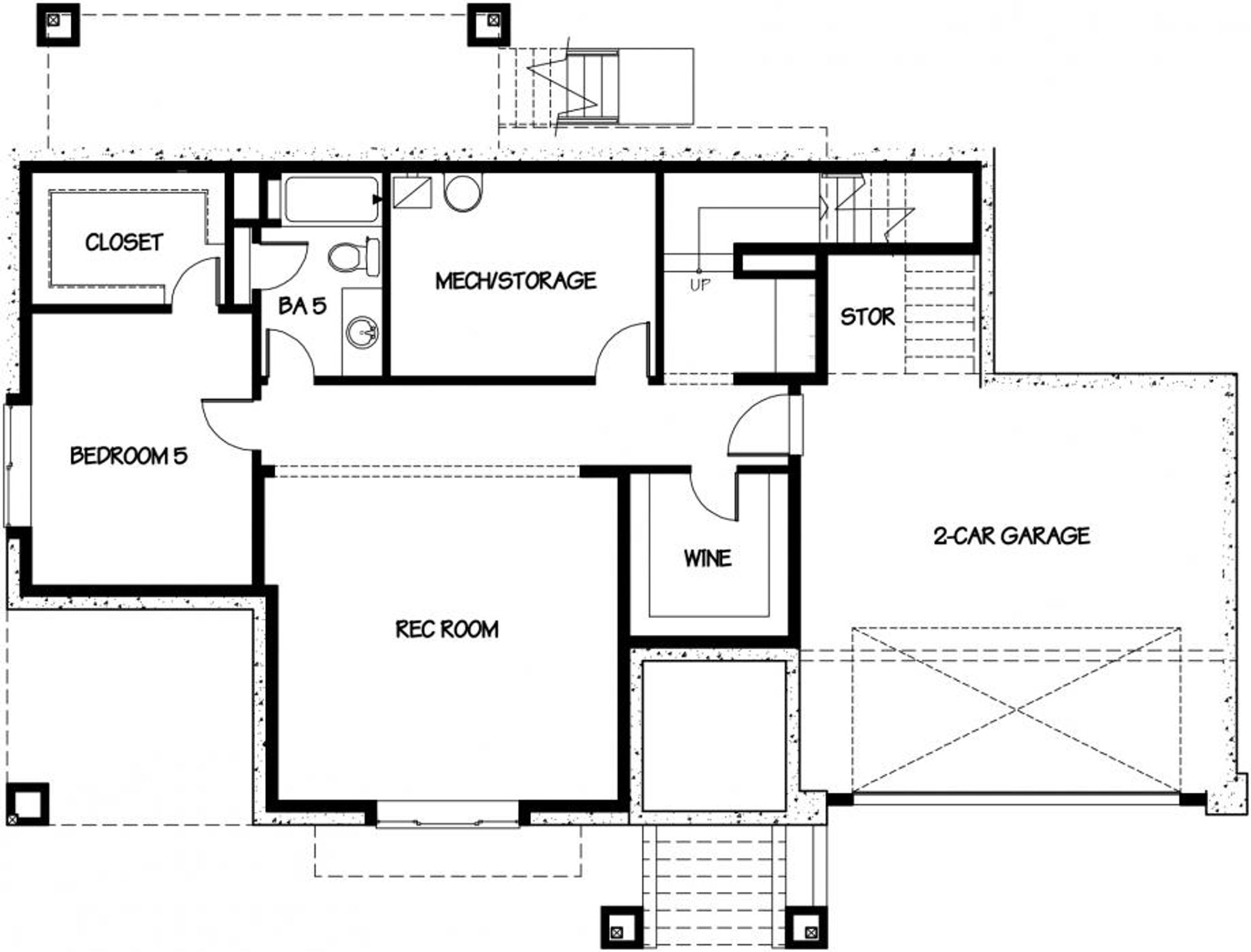 Sardinia Lower Floor Plan