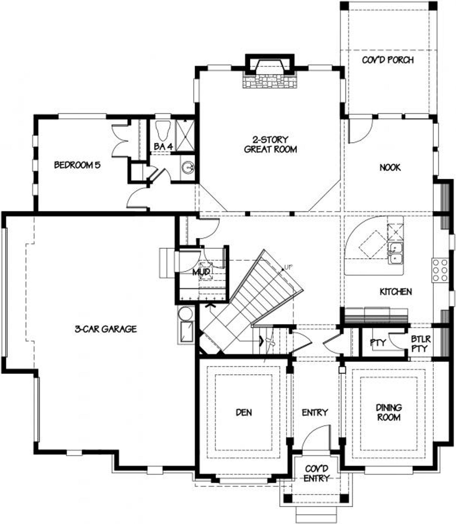 Palermo Main Floor Plan