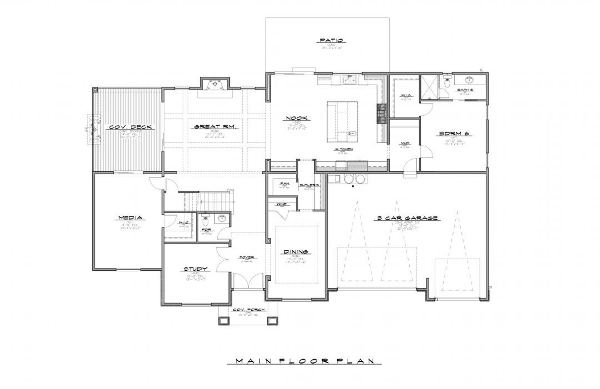 Perth Main Floor Plan