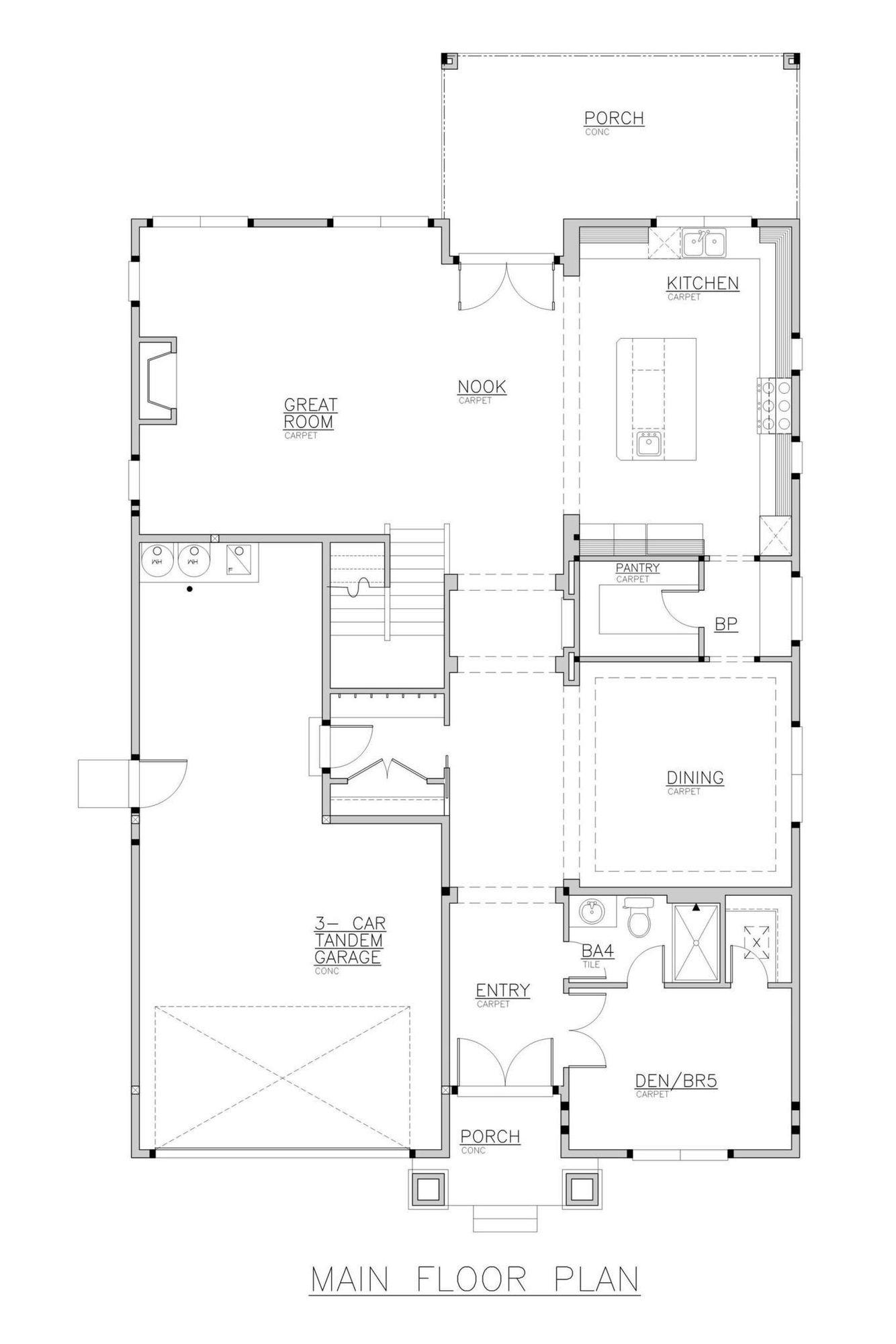 Trento Grande Main Floor