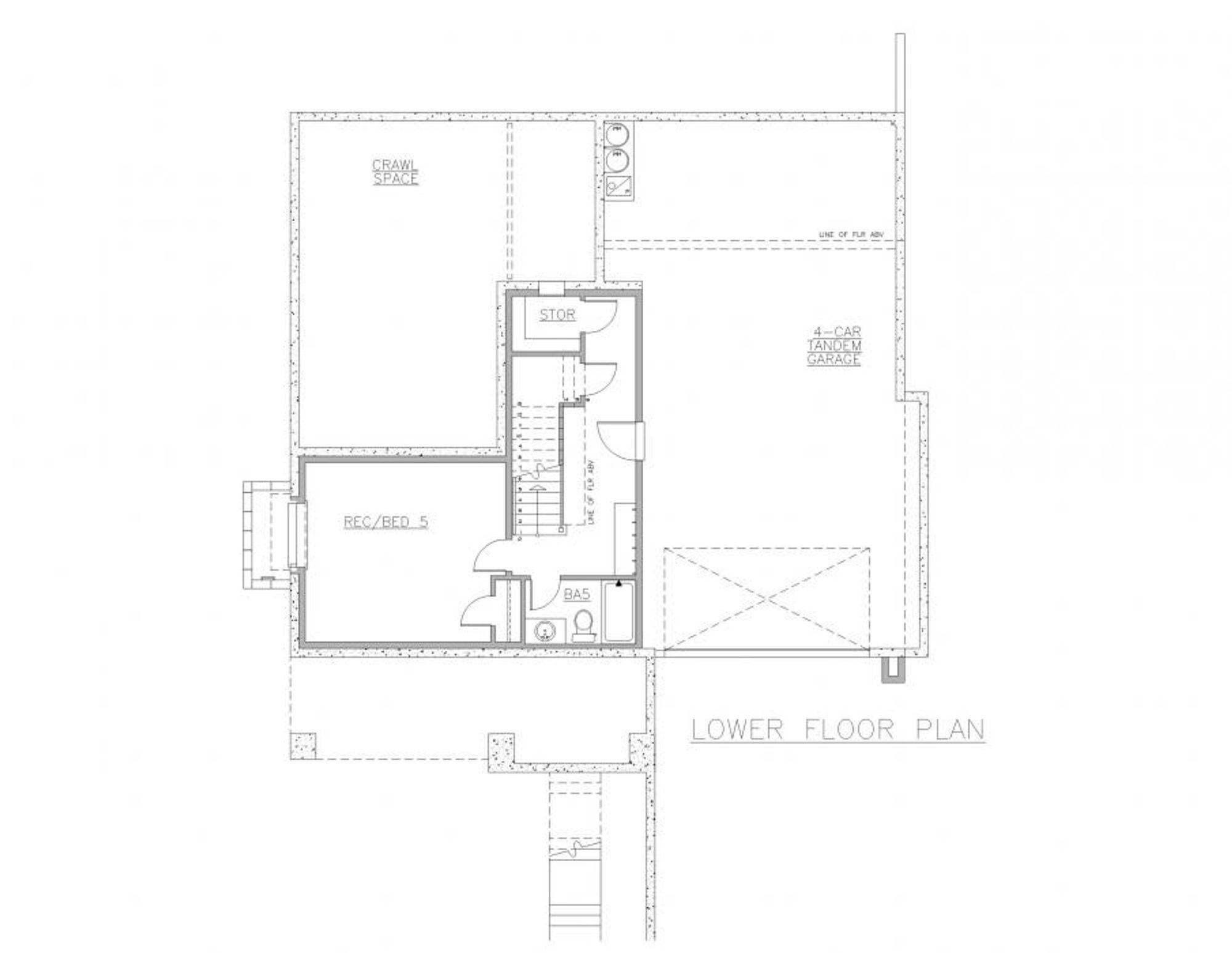 Capri Lower Floor Plan