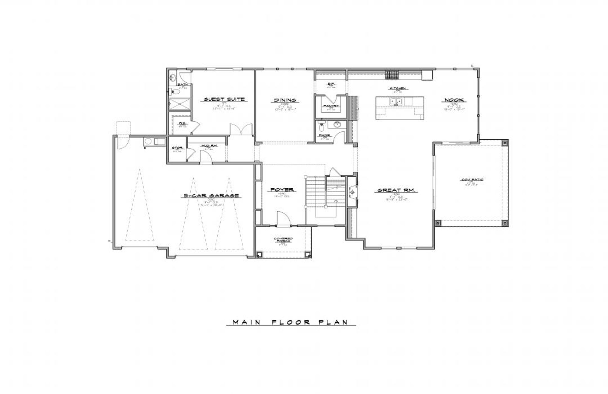 Ravenwood Main Floor Plan