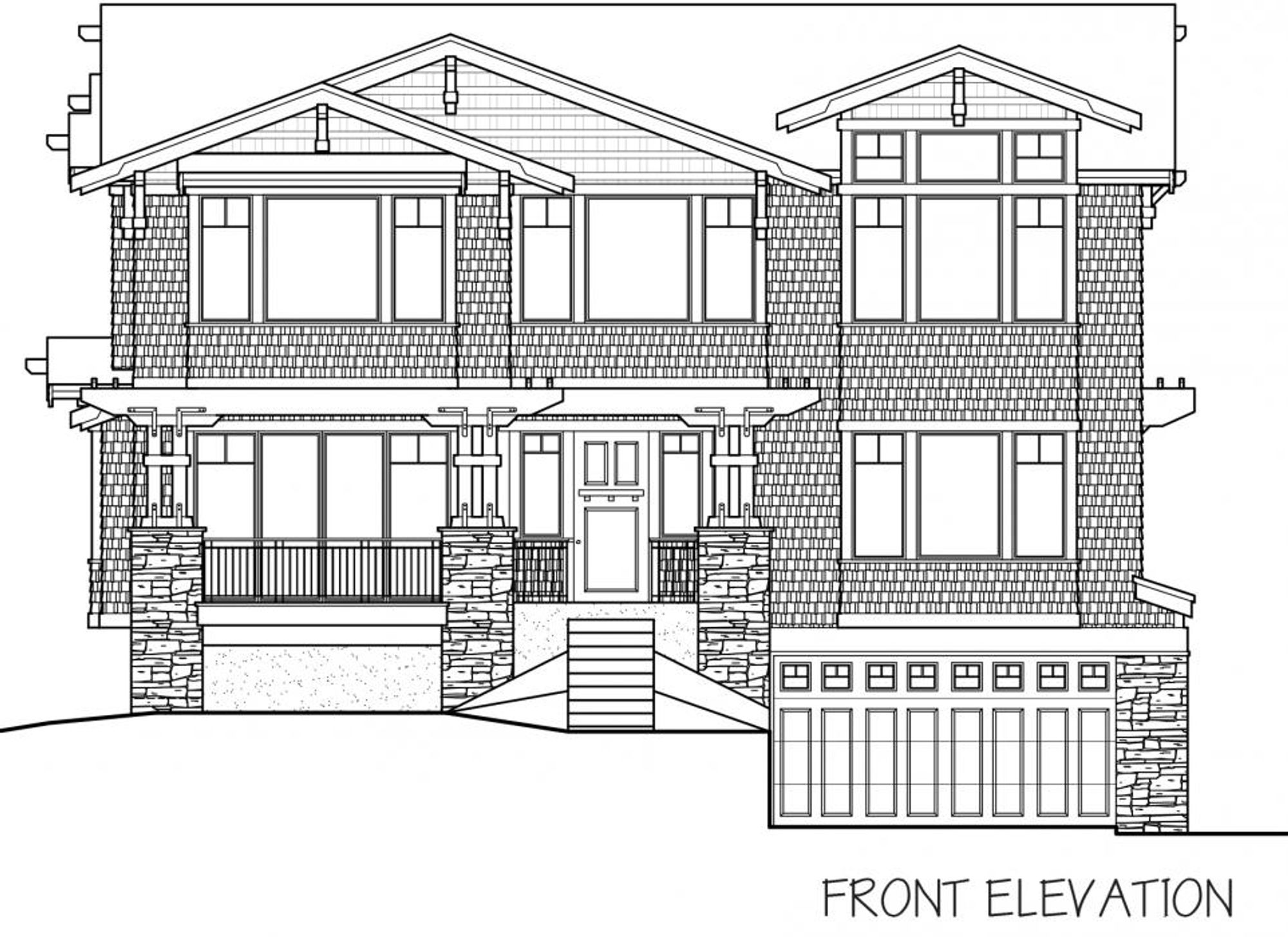 Roma Front Elevation