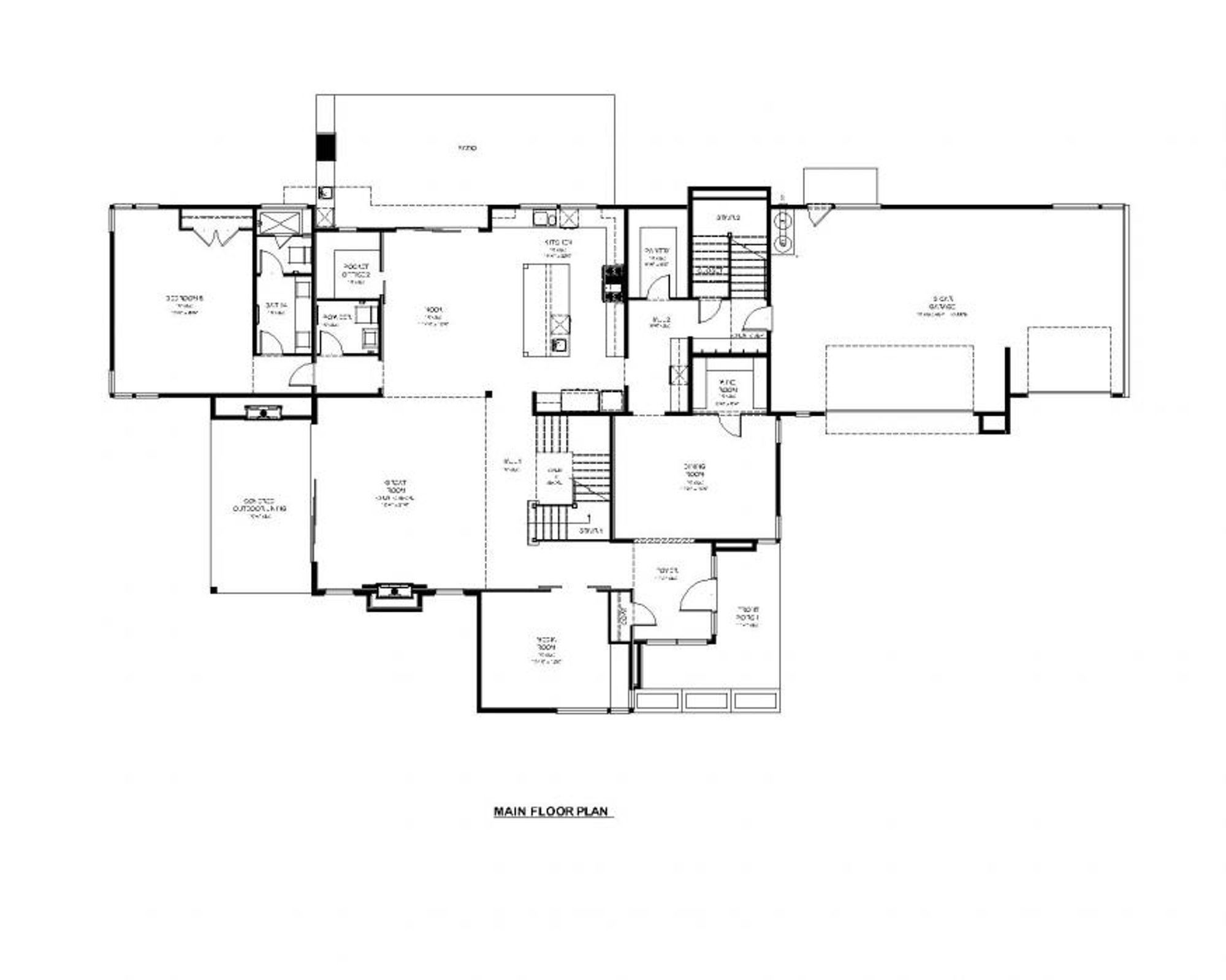 Delhi Main Floor Plan