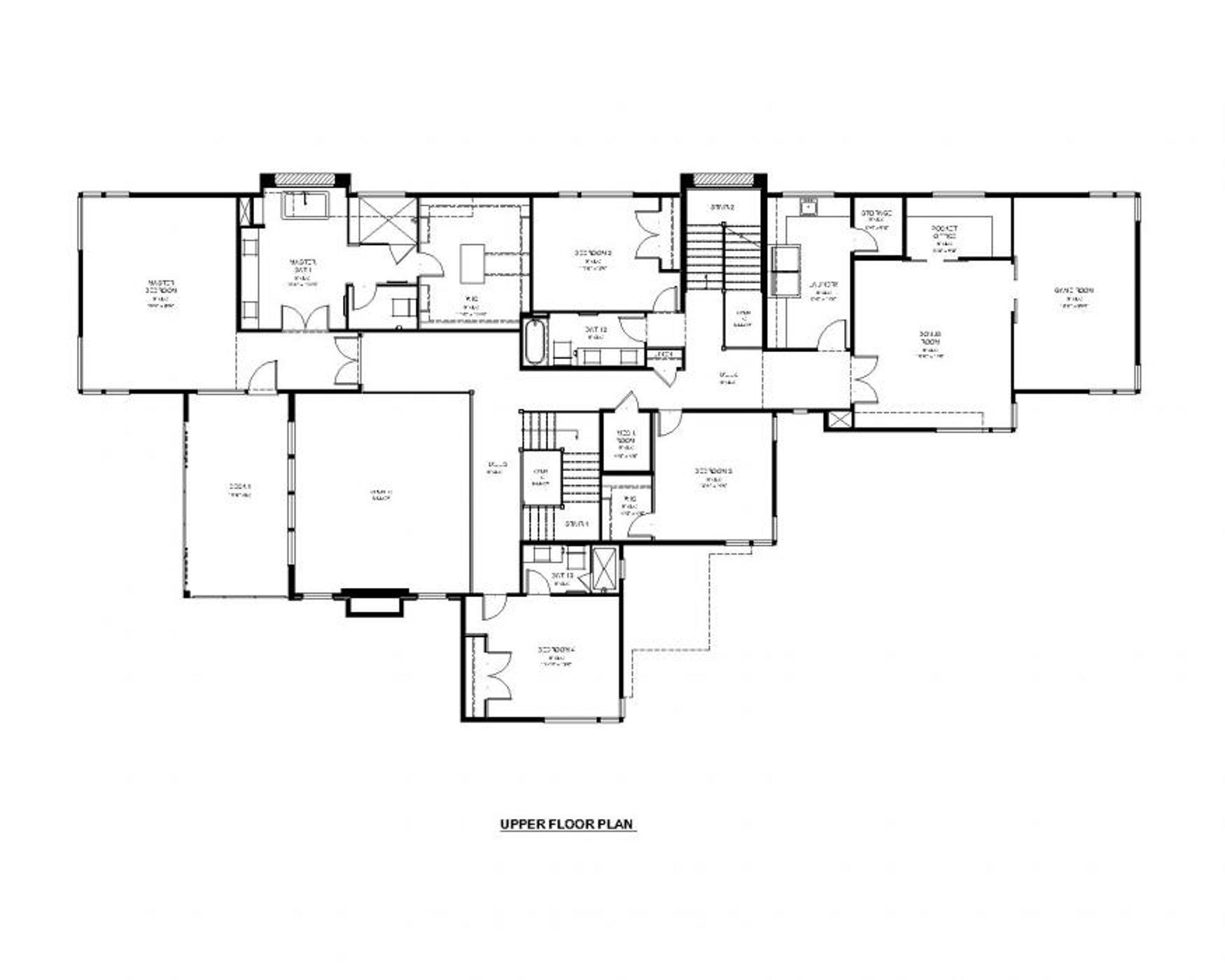 Delhi Upper Floor Plan
