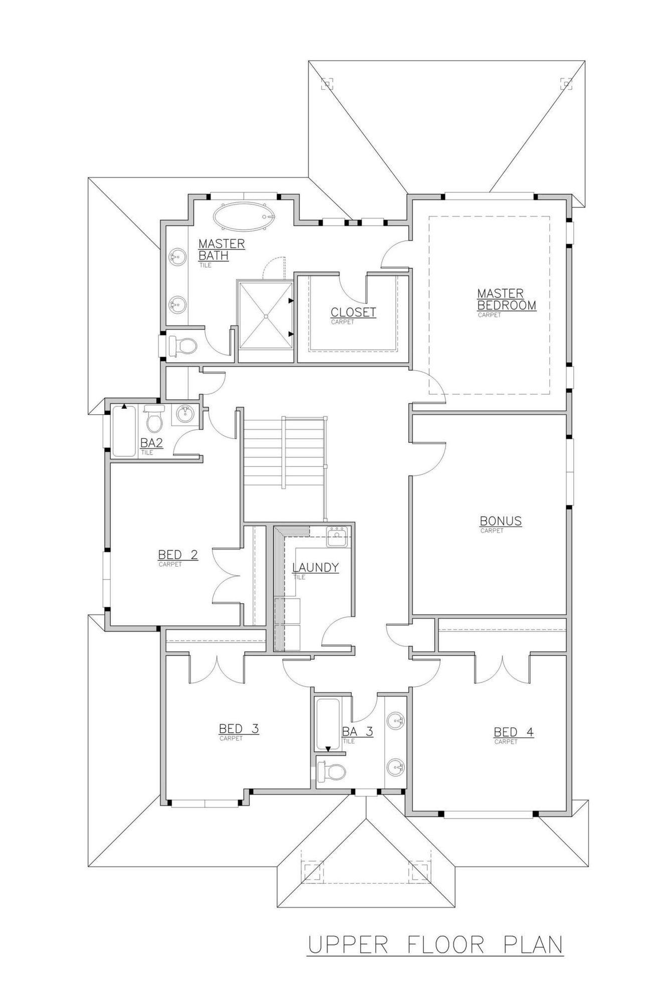 Trento Grande Upper Floor