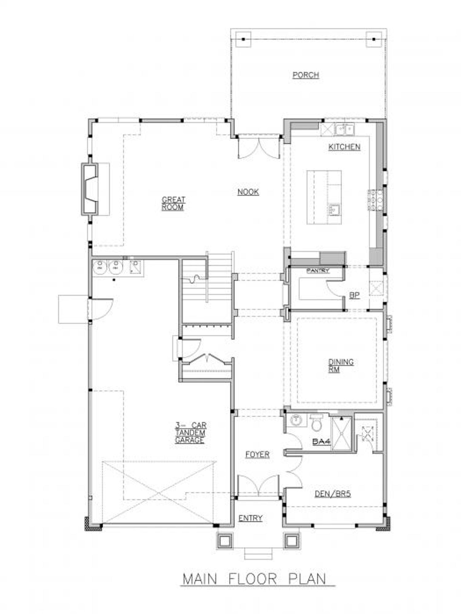 Pompeii Main Floor Plan