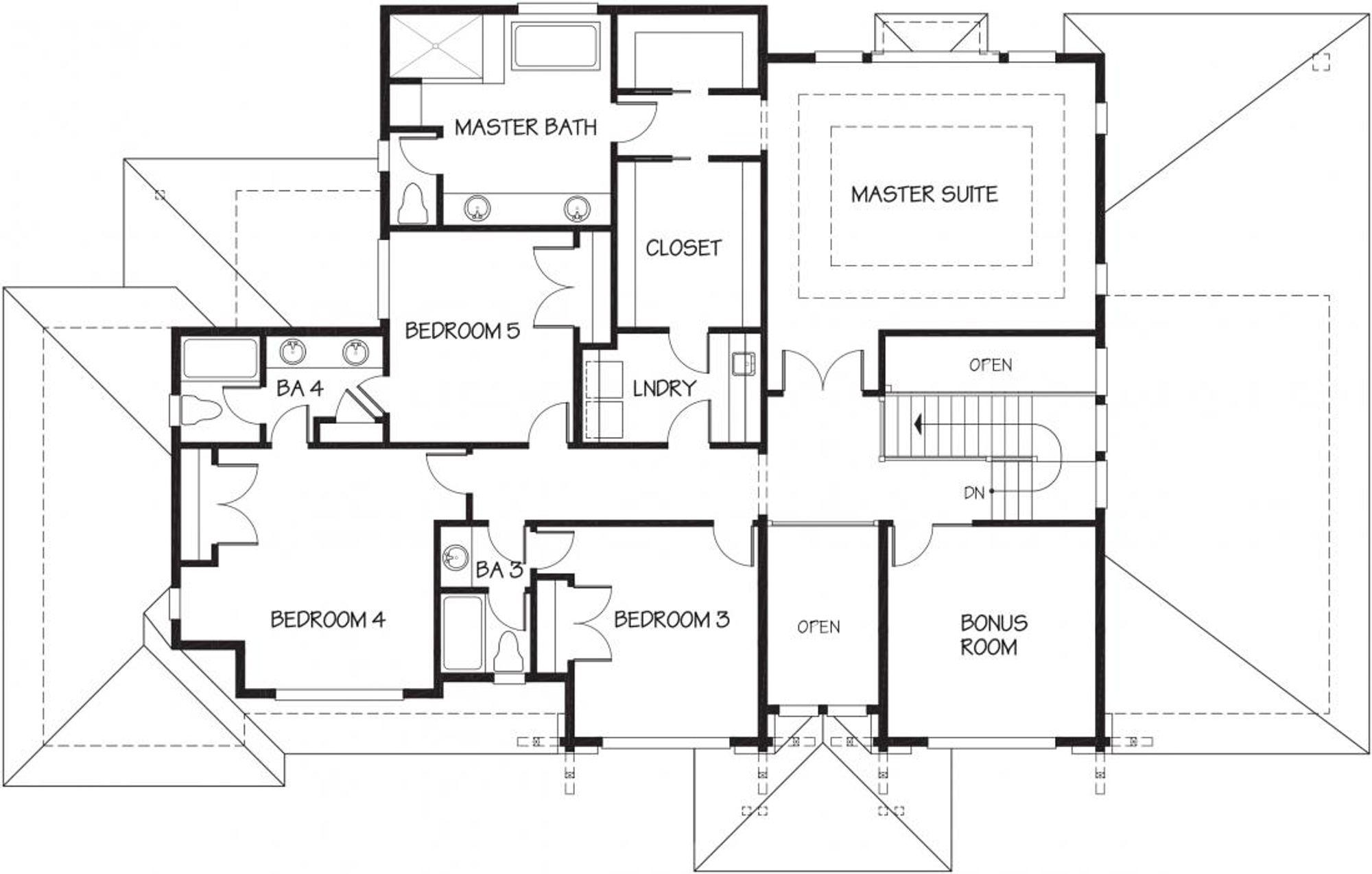 Sydney Nouveau B Upper Floor Plan