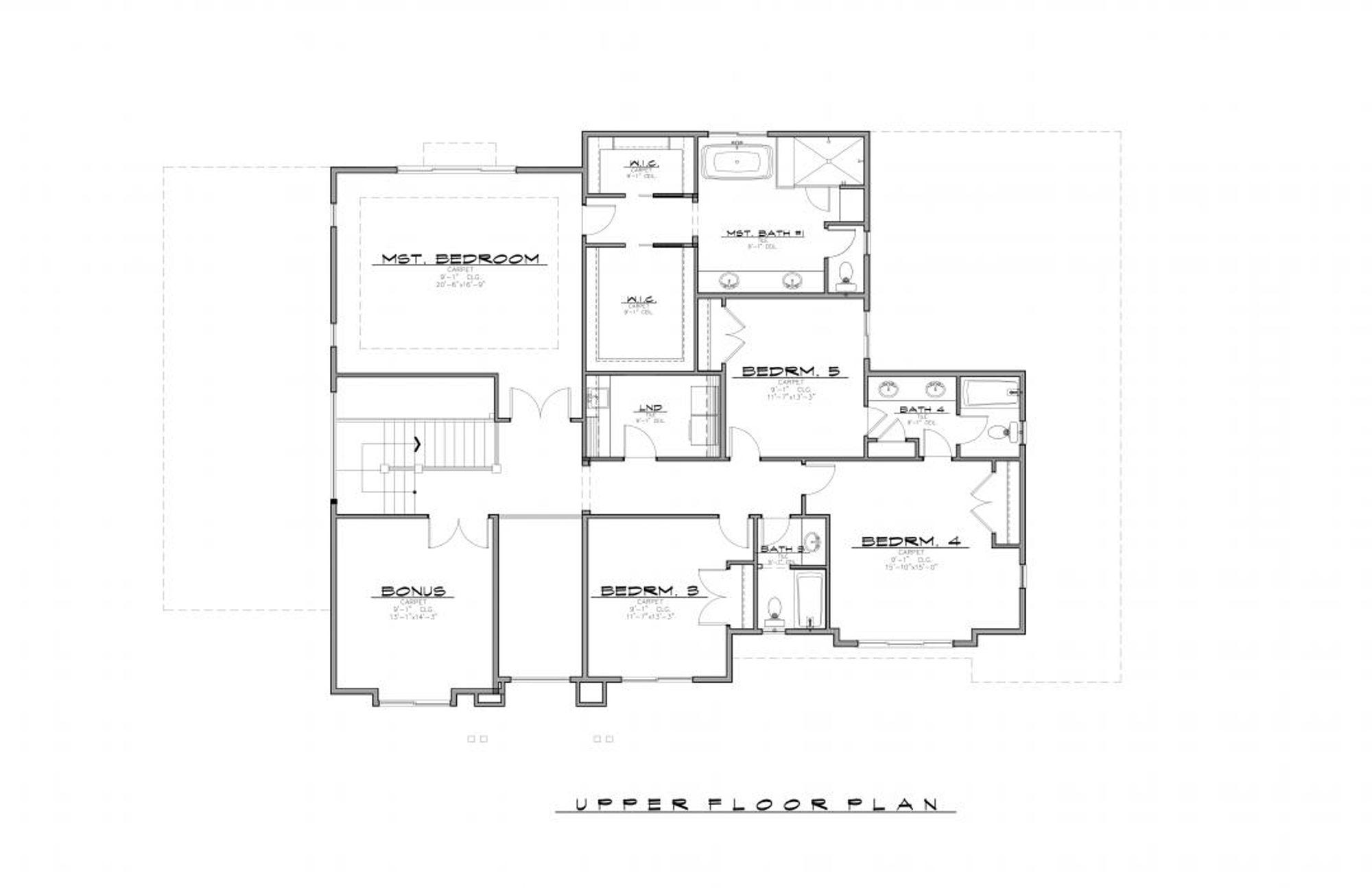 Perth Upper Floor Plan