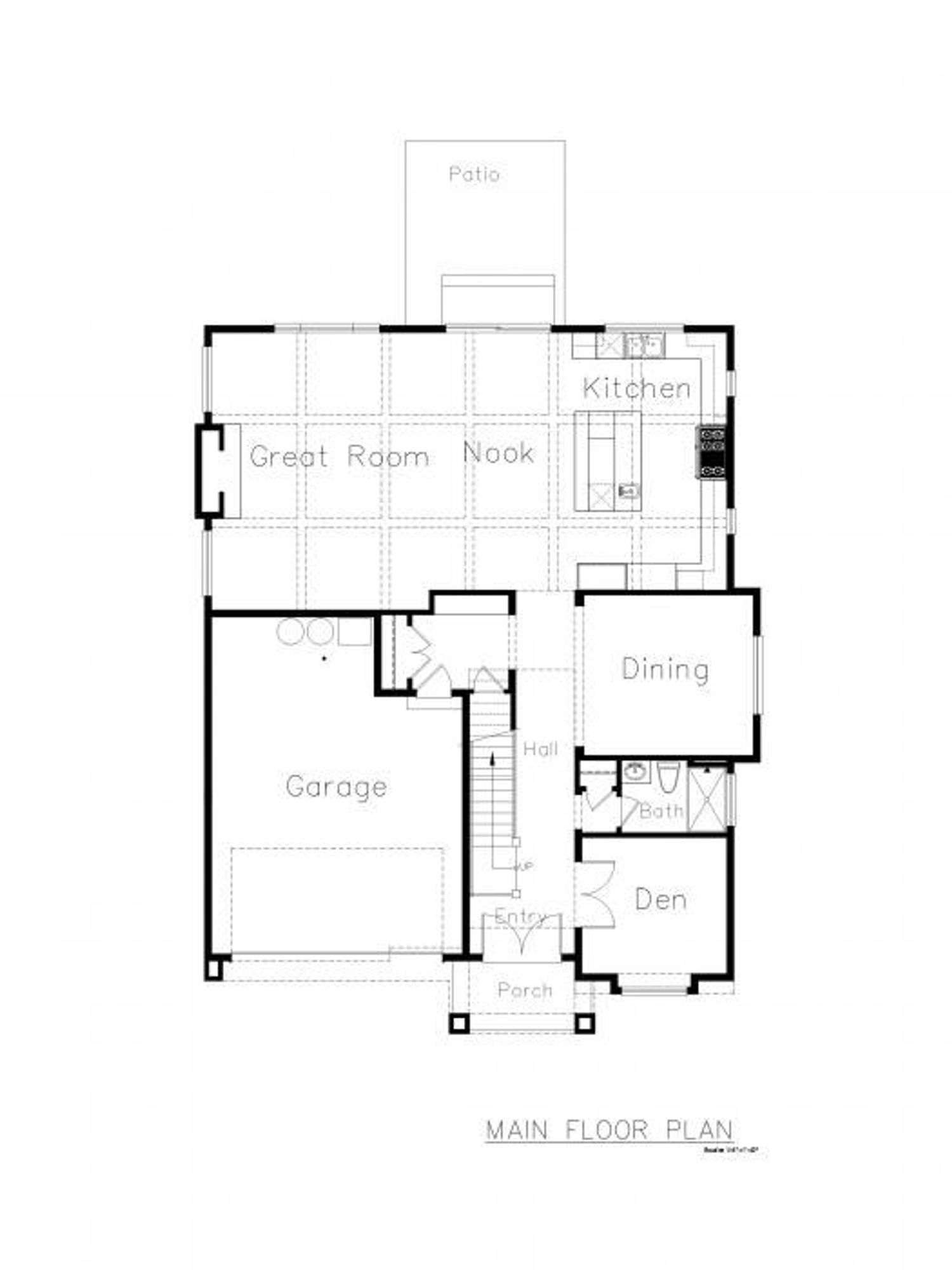 Whistler 2-Car Main Floor Plan