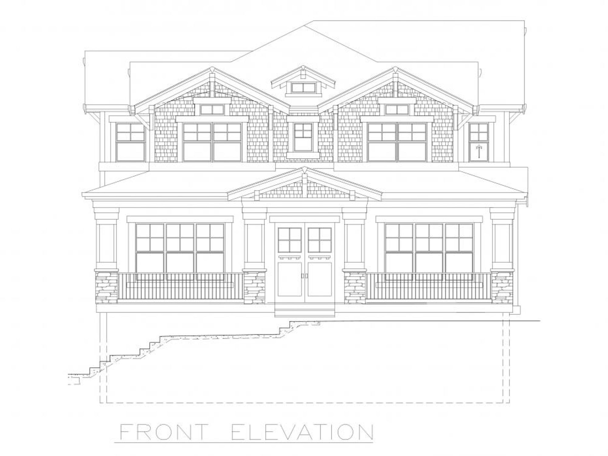The Florence Front Elevation