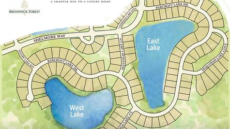 Lakes East & West