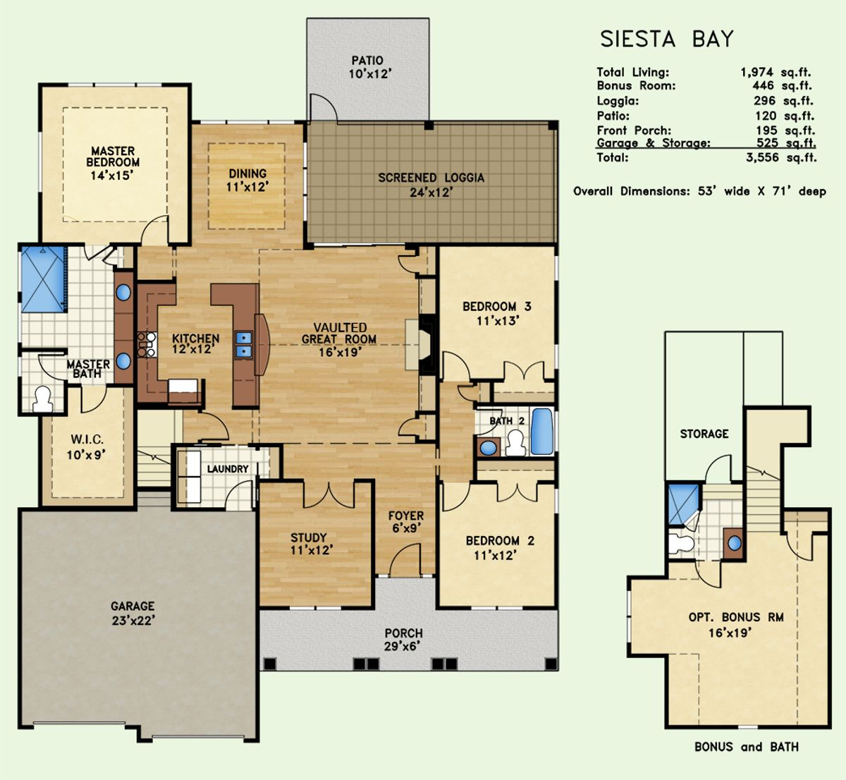 Siesta Bay Floor Plan