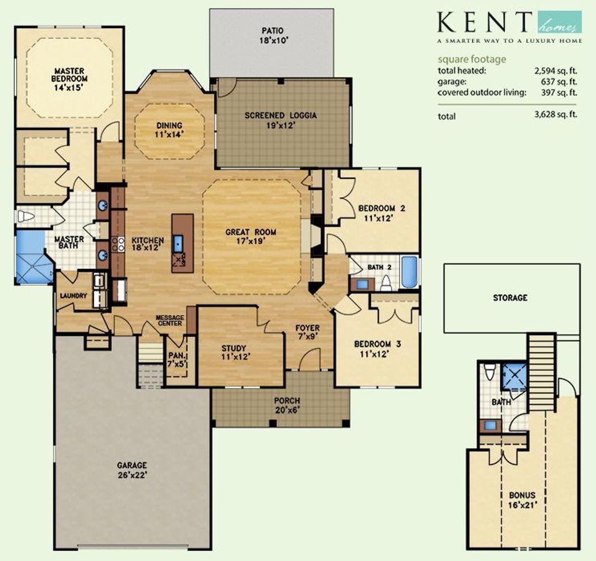 Shelter Bay, Floor Plan Lot 6