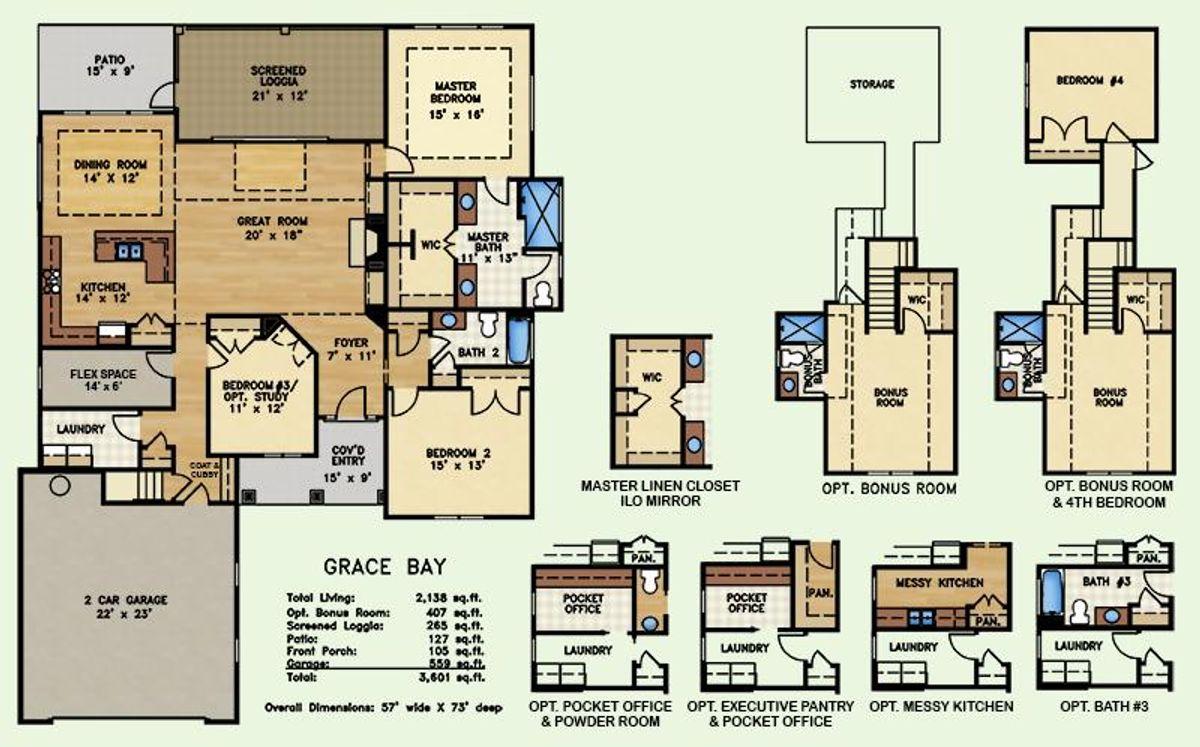 Grace Bay, Floor Plan