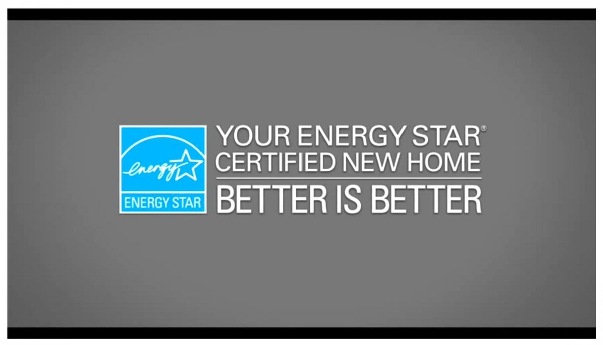 Energy Star Certified Homes: Better is Better