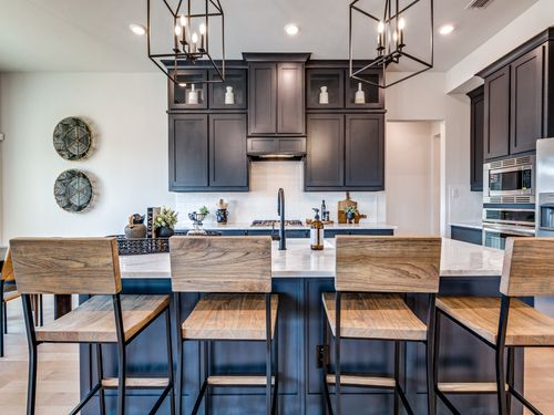 Model Home at Hidden Vistas in Burleson Texas