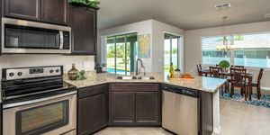 Kindred Homes Cape Coral Model Home Kitchen