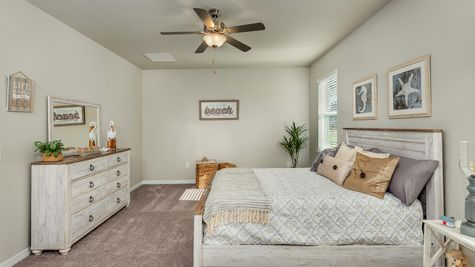 Kindred Homes Cape Coral Model Home Master Bedroom
