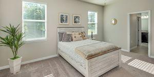 Kindred Homes Cape Coral Model Home Master Bedroom