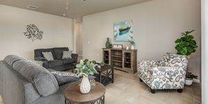 Kindred Homes Cape Coral Model Home Family Room