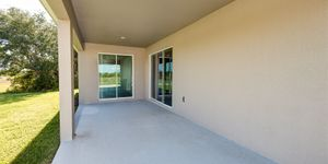 Kindred Homes Cape Coral Model Home Oversized Lanai