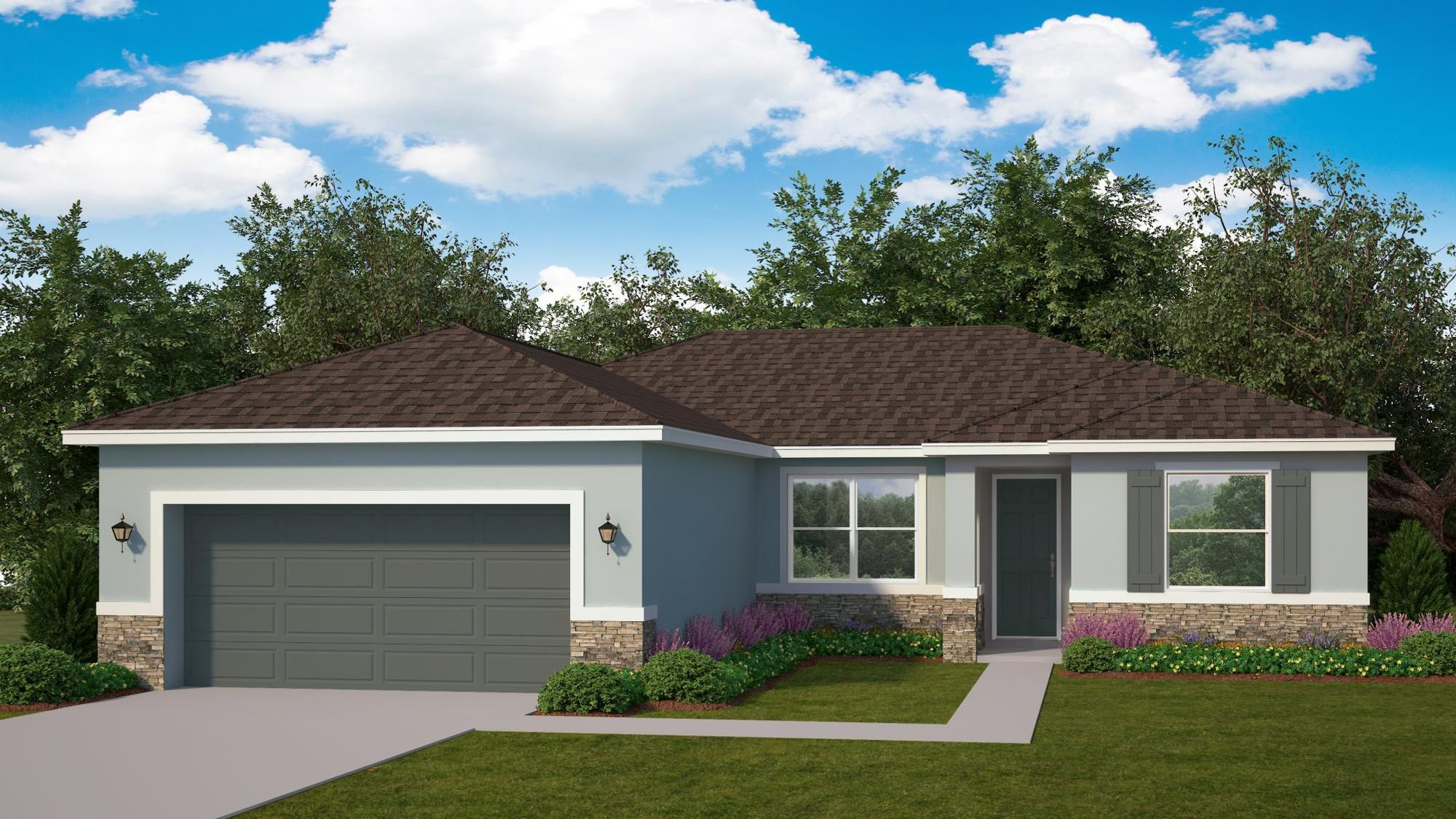Kindred Homes - Minneola Elevation B - CP04