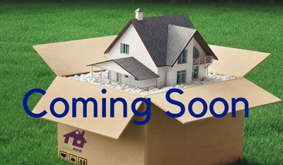 Coming soon listings image house in shipping carton