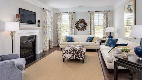 Family Room | Palmer Plan