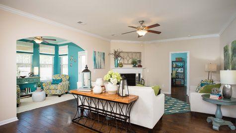 Living Room to Sunroom | Richardson Plan