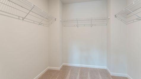 Primary Closet | McDowell Plan