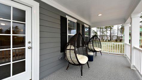 Second-Story Porch | Starks Plan