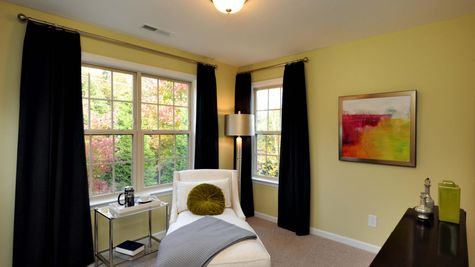 Master Bedroom Sitting Room - Yates Plan