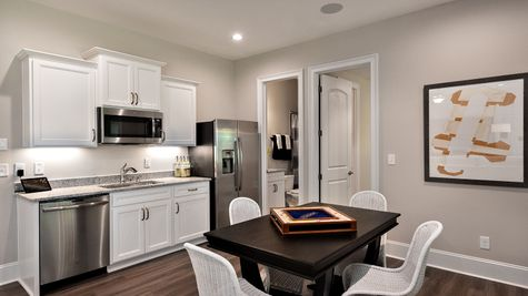 Basement Living Area - Warwick Plan