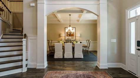 Foyer to Dining Room | Patterson Plan