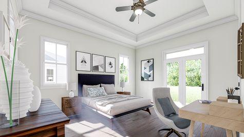 Primary Bedroom | Albemarle Plan