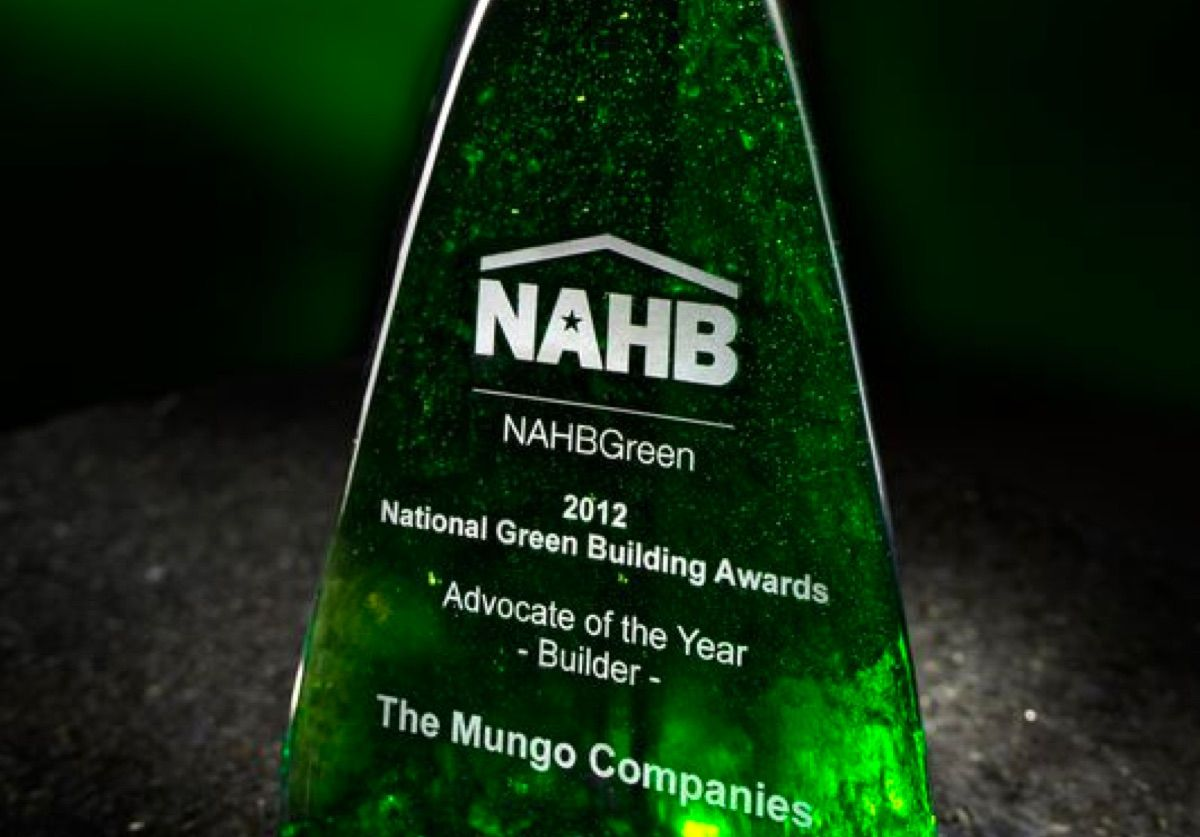 National Green Building Awards 2021 statuette