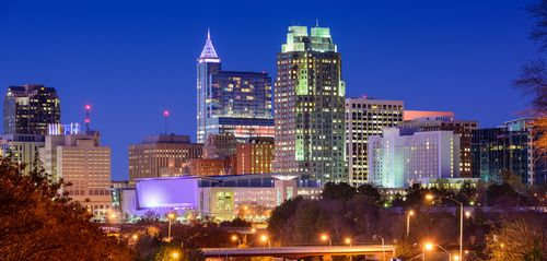 Raleigh NC cityscape