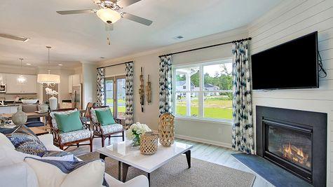 Family Room | Telfair Plan