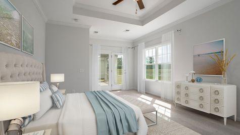 Primary Bedroom | Fairchild Plan