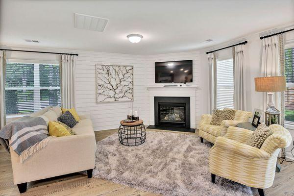 Living Room   Dawson Plan