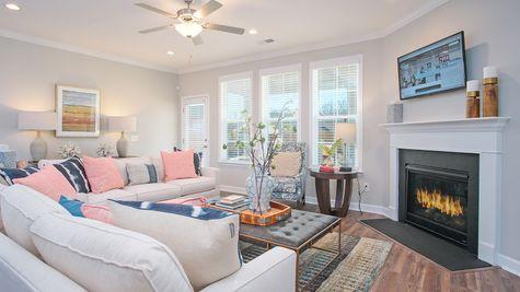 Family Room | Hayward Plan