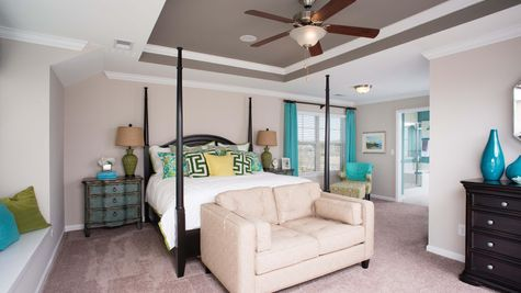 Master Bedroom | Langford Plan