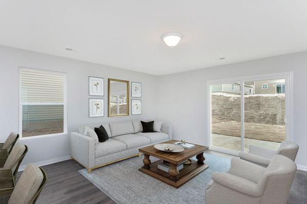 Family Room | Bartow Plan