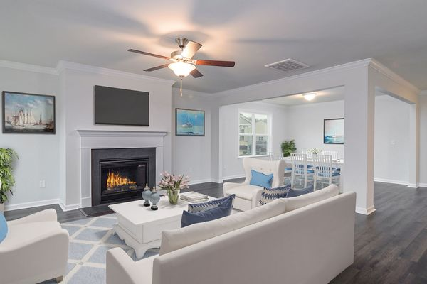 Family Room and Dining Room | Kershaw Plan