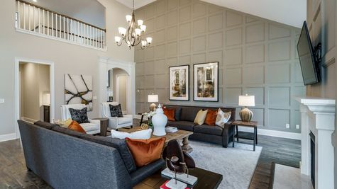 Family Room | Patterson Plan